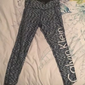 Cropped length Calvin Klein Leggings